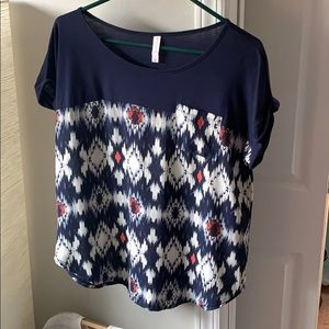 Target short sleeve fashion top